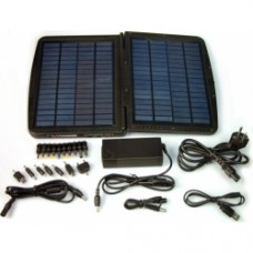 88.8 Watt-hours, Laptop Battery / 10,000 mW Solar Charger