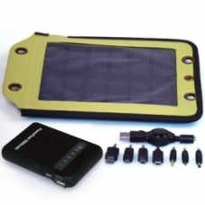 2.5 Watt, Solar Panel & 5500 mAh Battery