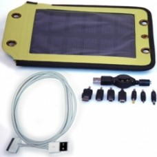 2.5 Watt, Solar Panel & Apple Cable