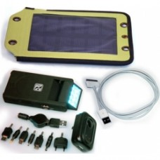 2.5 Watt, Solar Panel & 8100 mAh Battery & Apple Cable
