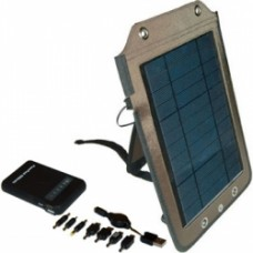 5 Watt, Solar Panel & 5500 mAh Battery