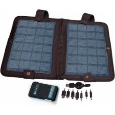 10 Watt, Solar Charger with 5500 mAh Rechargable Battery