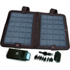10 Watt, Solar Charger with 8100 mAh Rechargable Battery